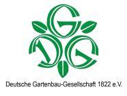 Logo mit Schriftzug Deutsche Gartenbau-Gesellschaft 1822 e.V. mit Link zur Webseite (Quelle Deutsche Gartenbau-Gesellschaft)