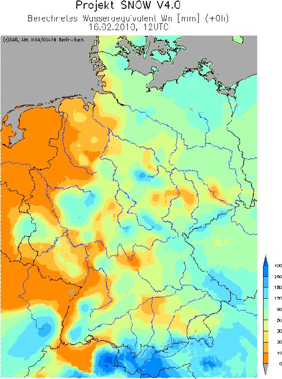 Wetter Und Klima Deutscher Wetterdienst Beispiele Aus Dem Winter