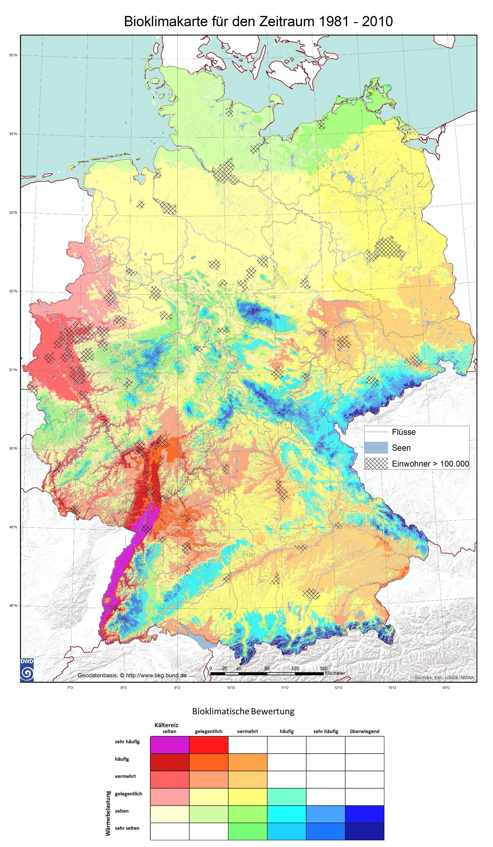 Radon Karte Deutschland.Wetter Und Klima Deutscher Wetterdienst Leistungen