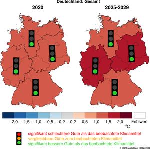 DWD: Klimaerwärmung