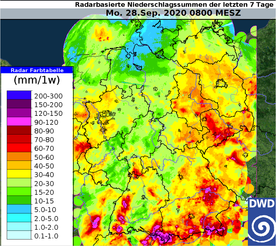 Wetter Westerland 28 Tage