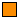 markante Warnung - orange