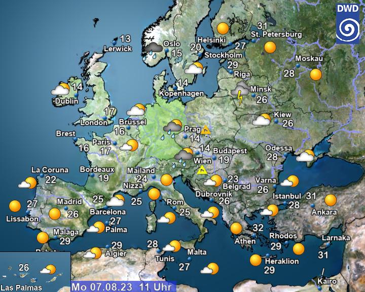 Wetter Marburg Aktuell