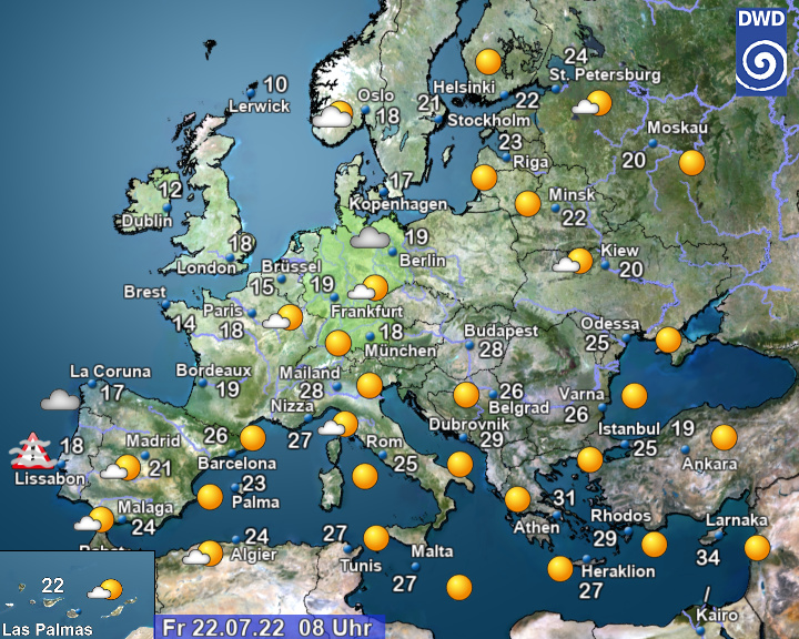 Wetter EU