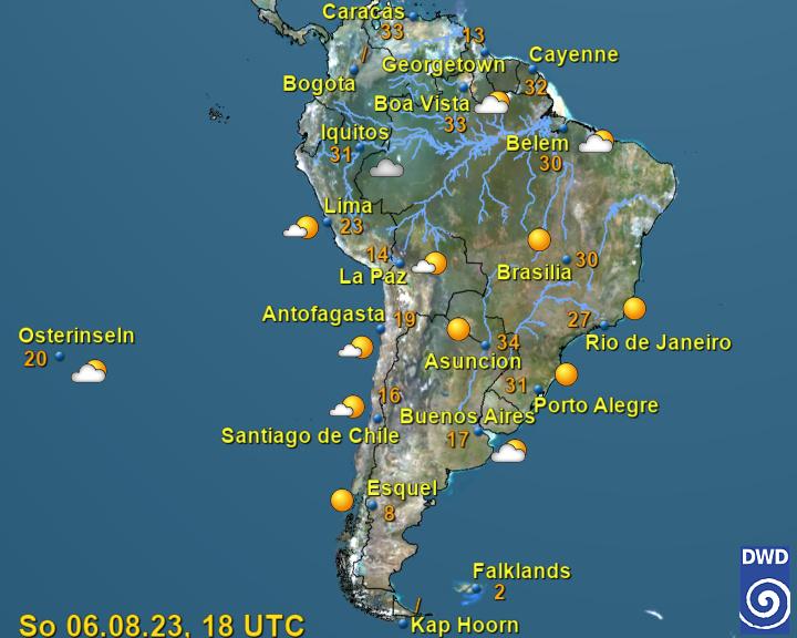 Wetter Bogota