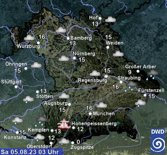 Wetter Aktuell Pfeffenhausen