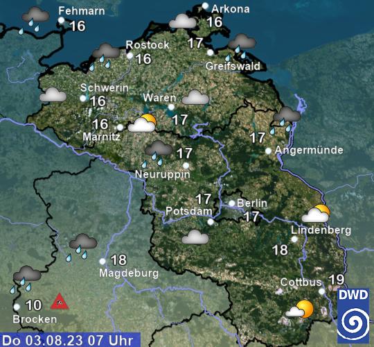 Wetter Und Klima Deutscher Wetterdienst Berlin Und Brandenburg