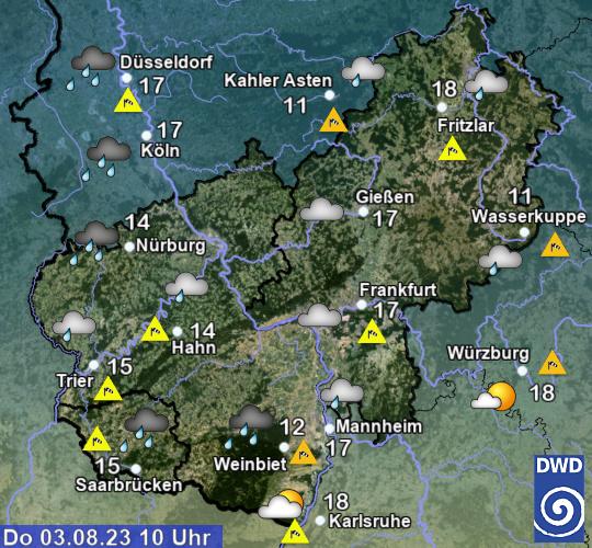 Beobachtungen Hessen