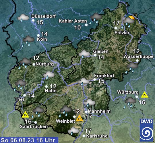 Wetter Rheinland-Pfalz