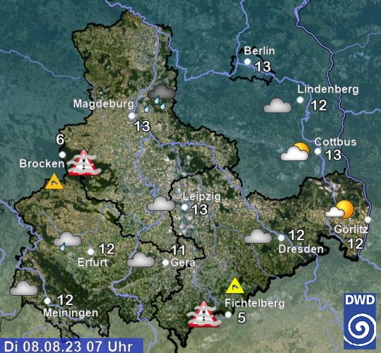 Wetter Thüringen