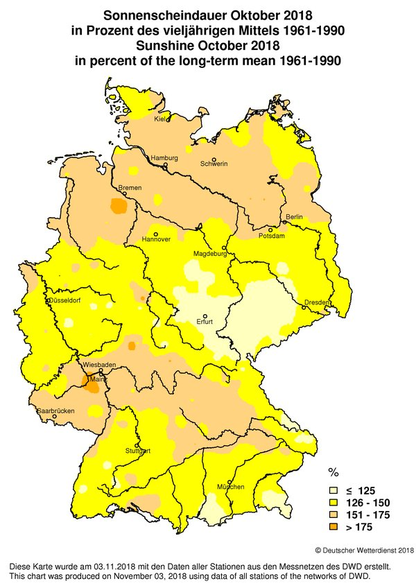 chosen product for offer: Climatological maps of Germany