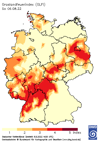 Graslandfeuer-Index