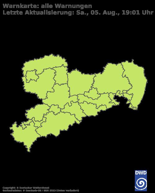 Aktuelle Wetterwarnungen für Leipzig