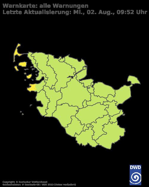 Aktuelle Warnungen der Region
