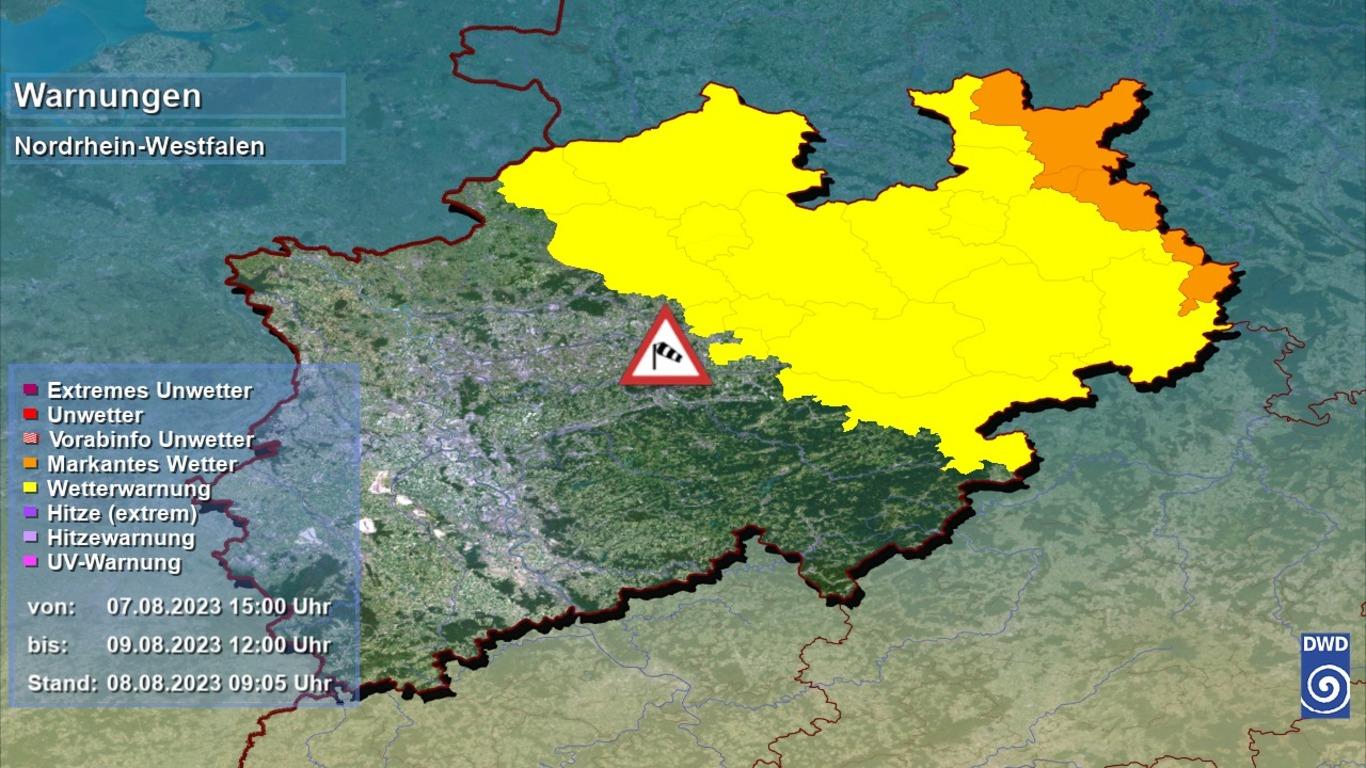 NRW Wetterwarnungen