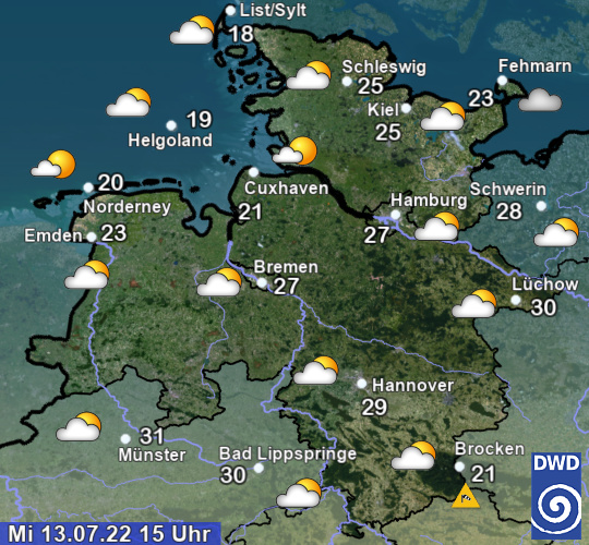 Wetter NW DL