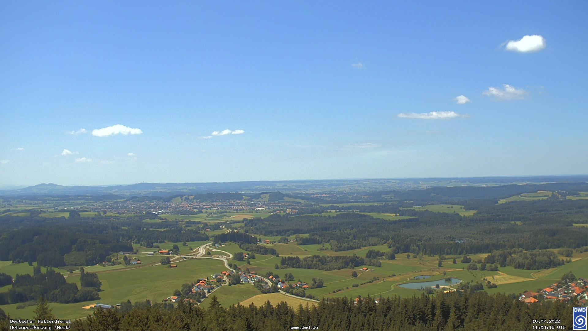 DWD- Wetterkamera Hohenpeißenberg