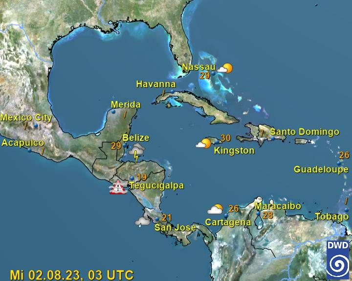 Live World Weather