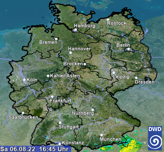 Radar Germania OFF-LINE