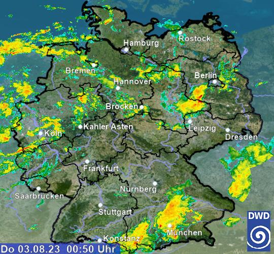 Radar Germania OFF-LINE