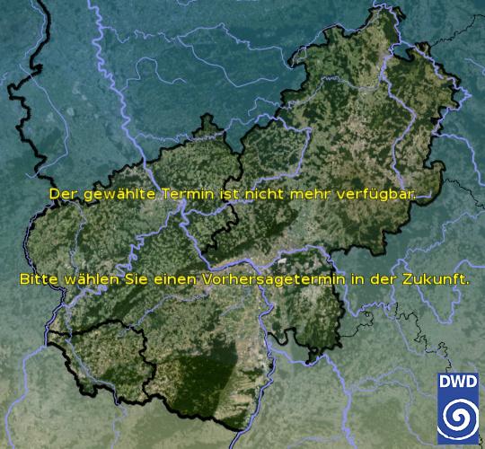 Vorhersage heute - Mittag - Deutscher Wetterdienst