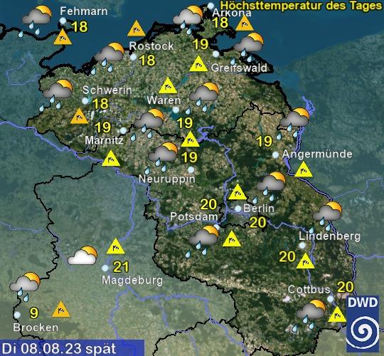 Mecklenburg-Vorpommern Vorhersage