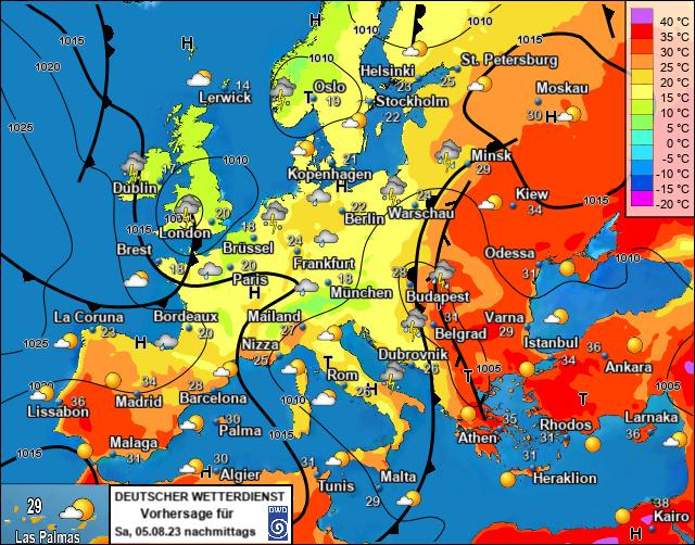 Europa Vandaag bij meteotines