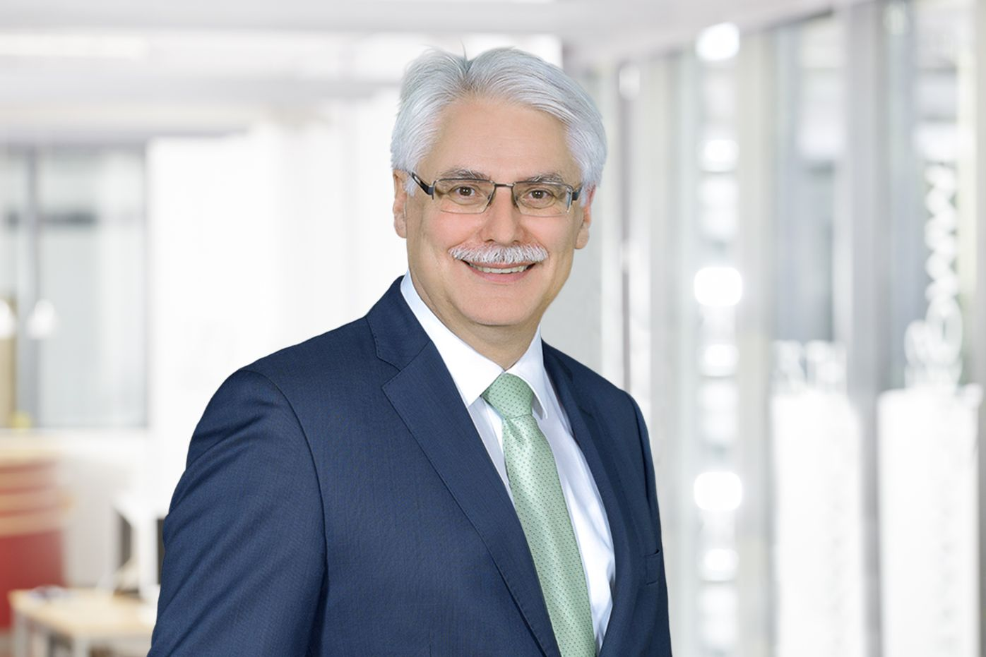 Business area personnel and business management director norbert wetter