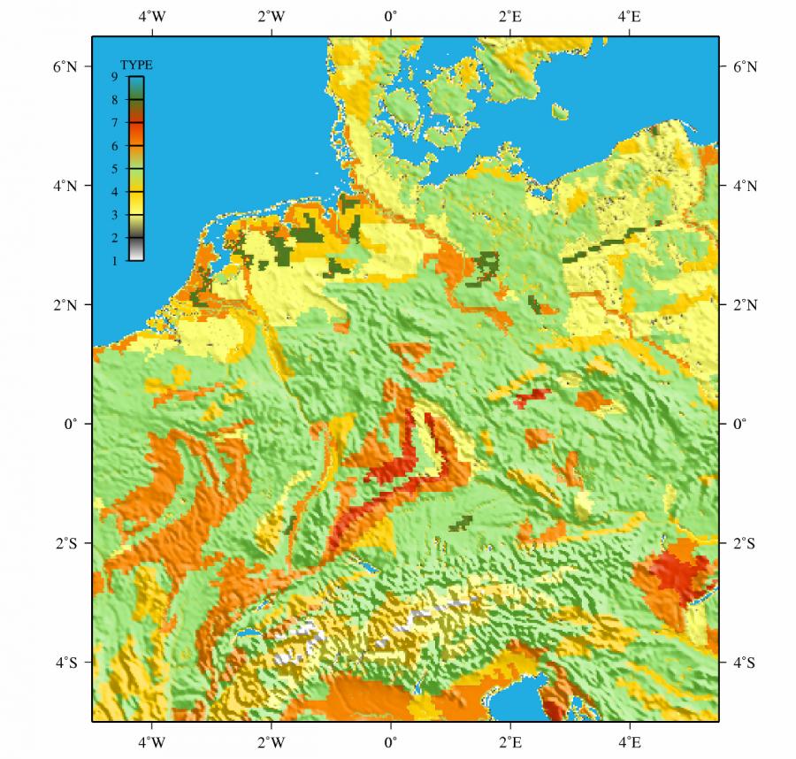 Wetter und Klima - Deutscher Wetterdienst - Geospatial data