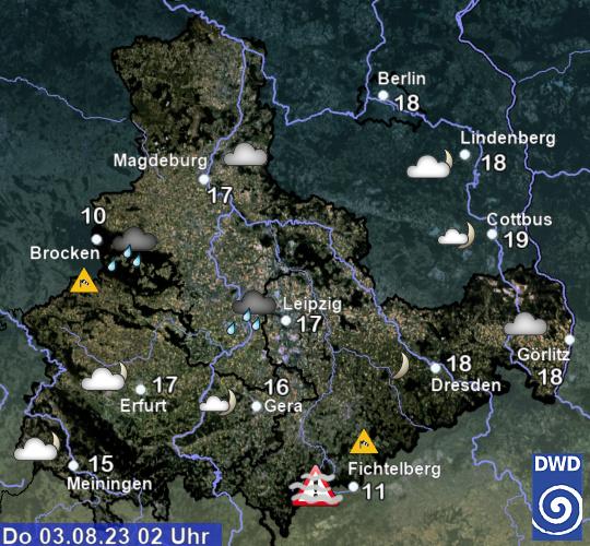 Wetter und Klima - Deutscher Wetterdienst - Saxony-Anhalt